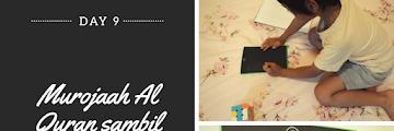 Menstimulasi Anak Suka Matematika (Murojaah Al Quran sambil berhitung) - Day 9