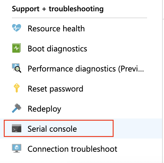 Unable to ssh to the target VM on Azure after the Azure Migration | Liainfraservices