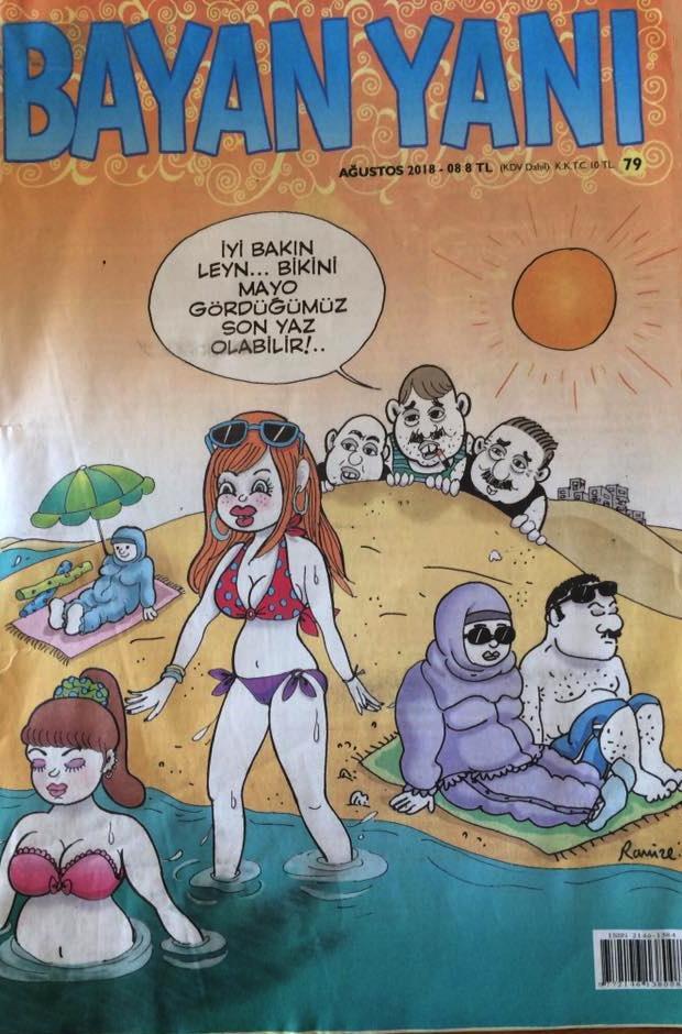 Men in panties cartoons The Bad Girls Female Cartoonists In Turkey Ahval