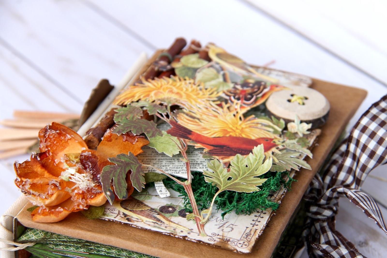 Four seasons Autumn Album by Marina Blaukitchen Product by Graphic 45 photo 9.jpg