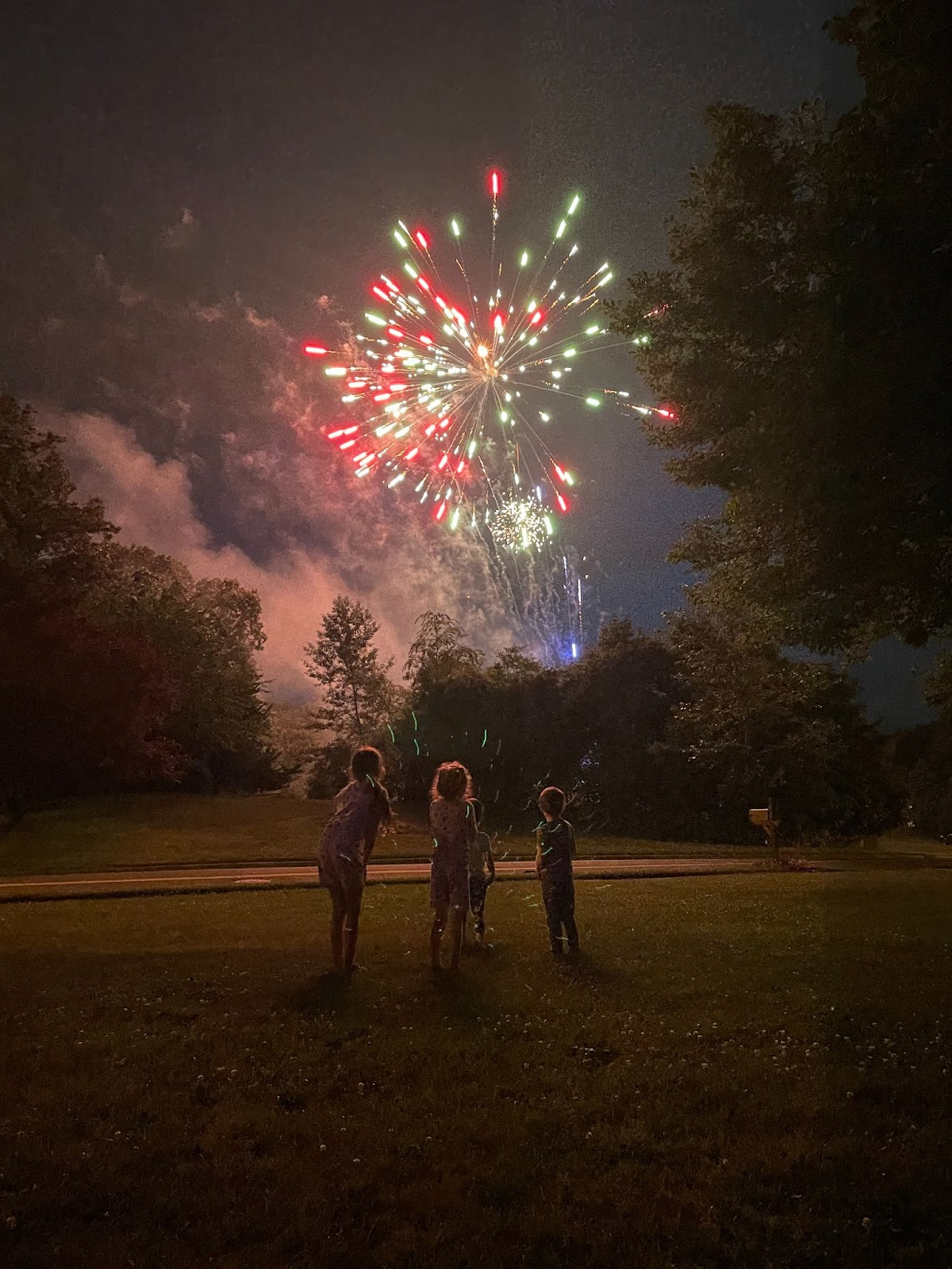 Fireworks to celebrate end of summer