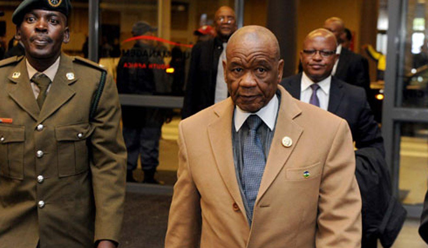 Drama en Lesoto: Un asesinato, una primera dama y mucho más
