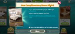 myVEGAS rewards redeem 2