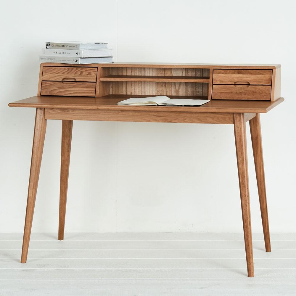 Mẫu bàn làm việc cao cấp từ gỗ tự nhiên