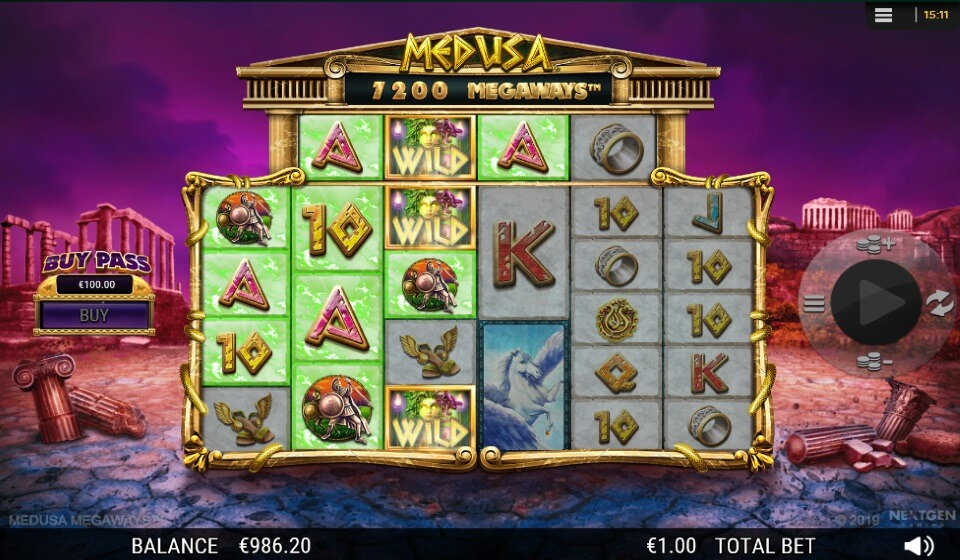 Herní automat Medusa Megaways