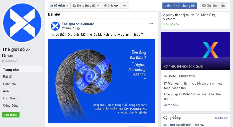 Facebook Giải pháp digital marketing