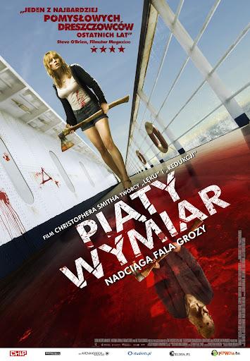 Polski plakat filmu 'Piąty Wymiar'