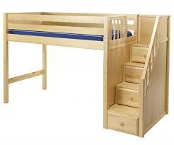 Image result for Loft beds with stairs and ladders