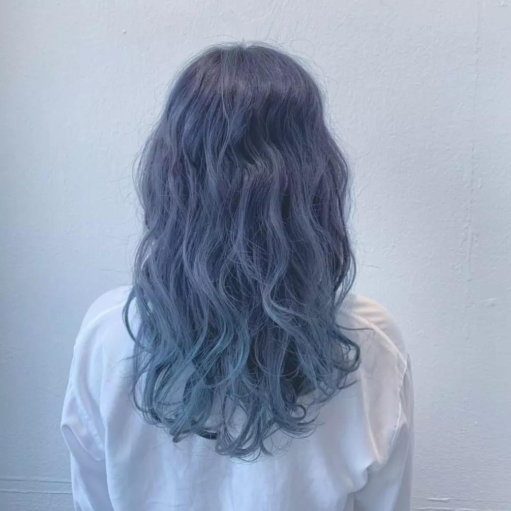 Màu khói xanh lam