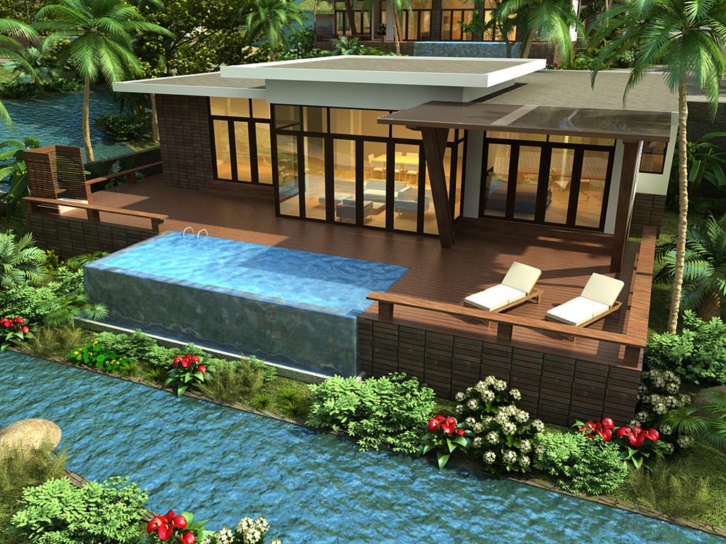 Hồ bơi mini