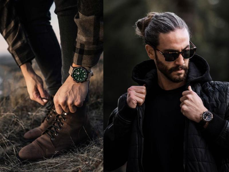 Một chiếc đồng hồ nam để nâng tầm phong cách- tại sao không?