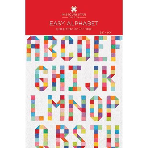 Easy Alphabet Quilt Pattern by Missouri Star