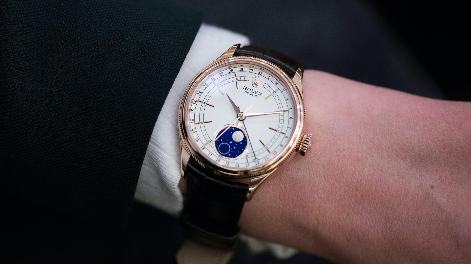 Introducing: The Rolex Cellini Moonphase (Live Pics & Pricing) - HODINKEE