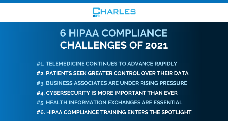 HIPAA challenges of 2021: 6 ways the healthcare sector is responding