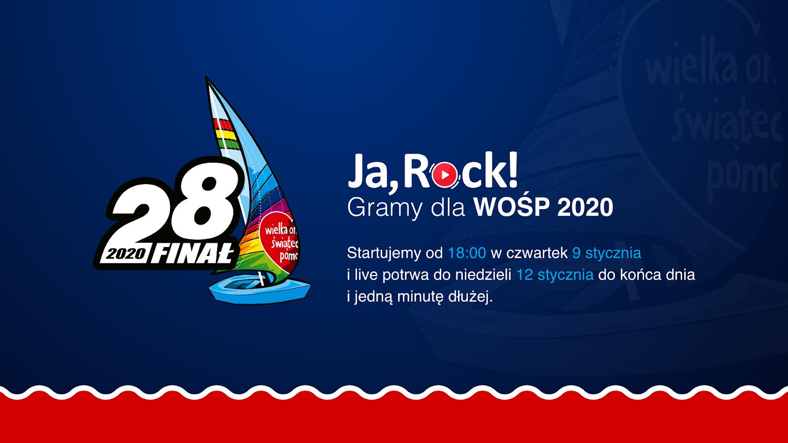 JaRock stream WOŚP