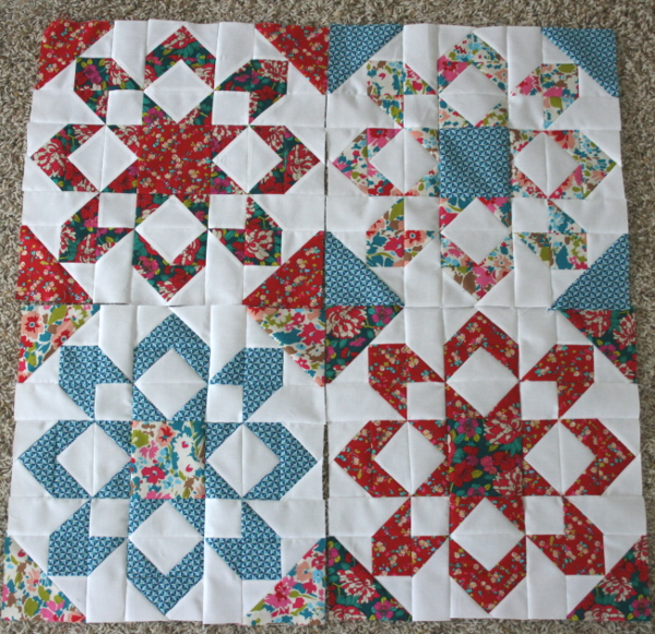 Fireworks Quilt Blocks