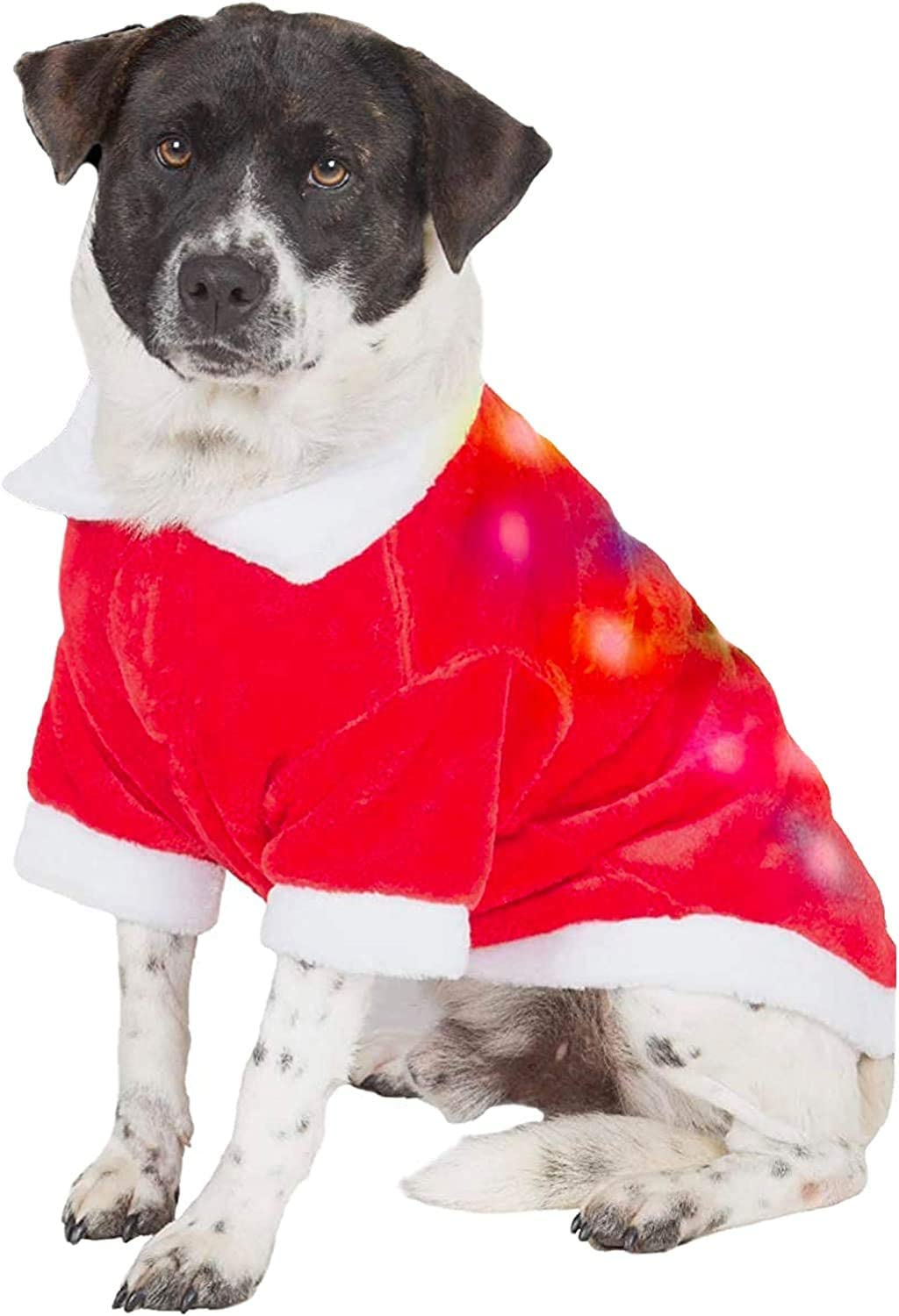 christmas sweaters for large dogs santa suit