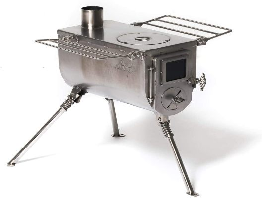 Winnerwell Woodlander Tiny Portable Wood Burning Stove for Tents
