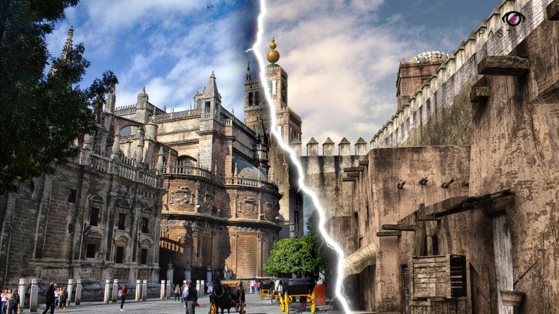 Experiencia de realidad aumentada con Past View en Sevilla