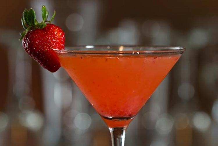 Gin com Morango