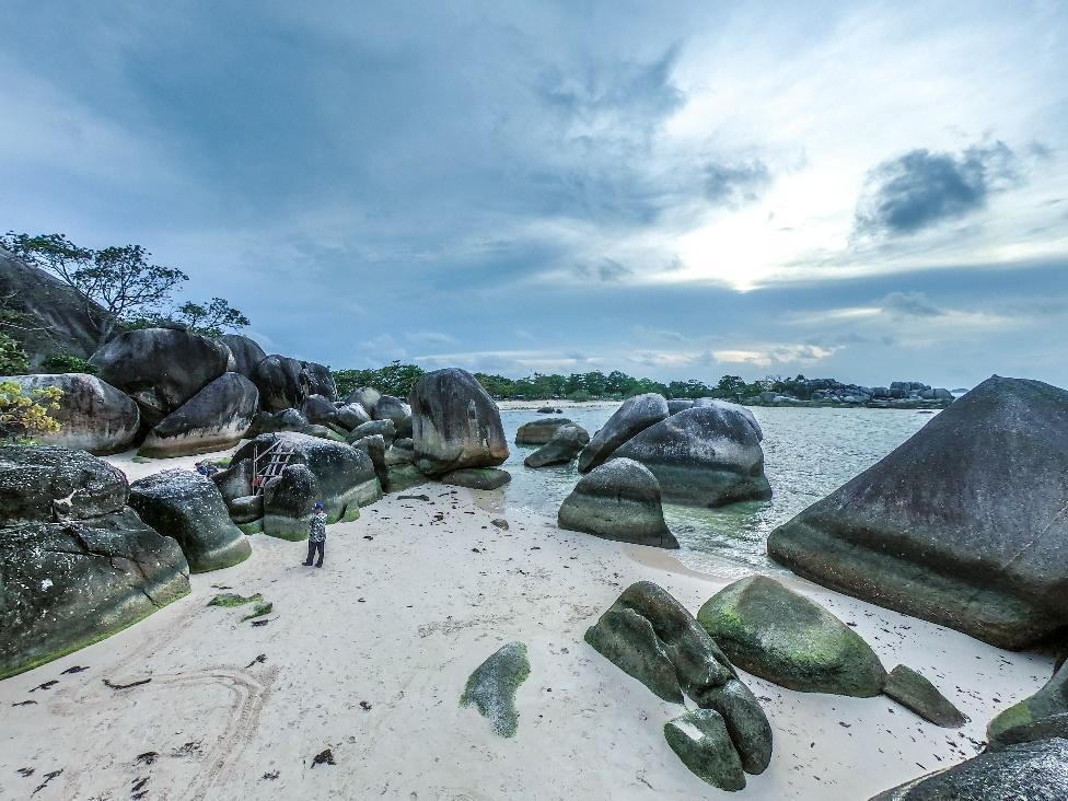 Island Hopping Belitung Island