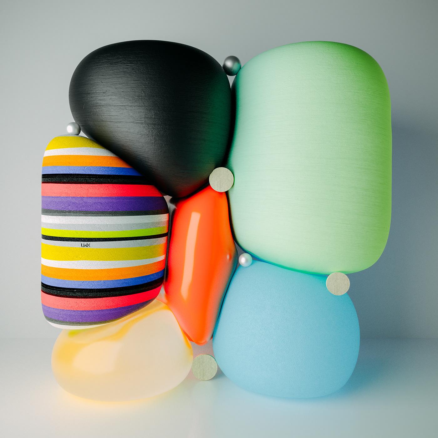 3dmotion 3dsculpture 3DType abstract handrawn moderndesign moods pantone Patterns