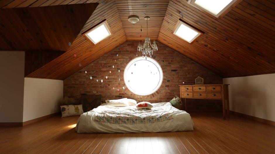 architecture, bed, bedroom