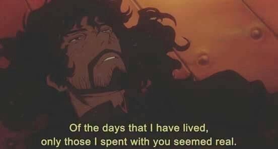 Cowboy bebop quotes Vincent