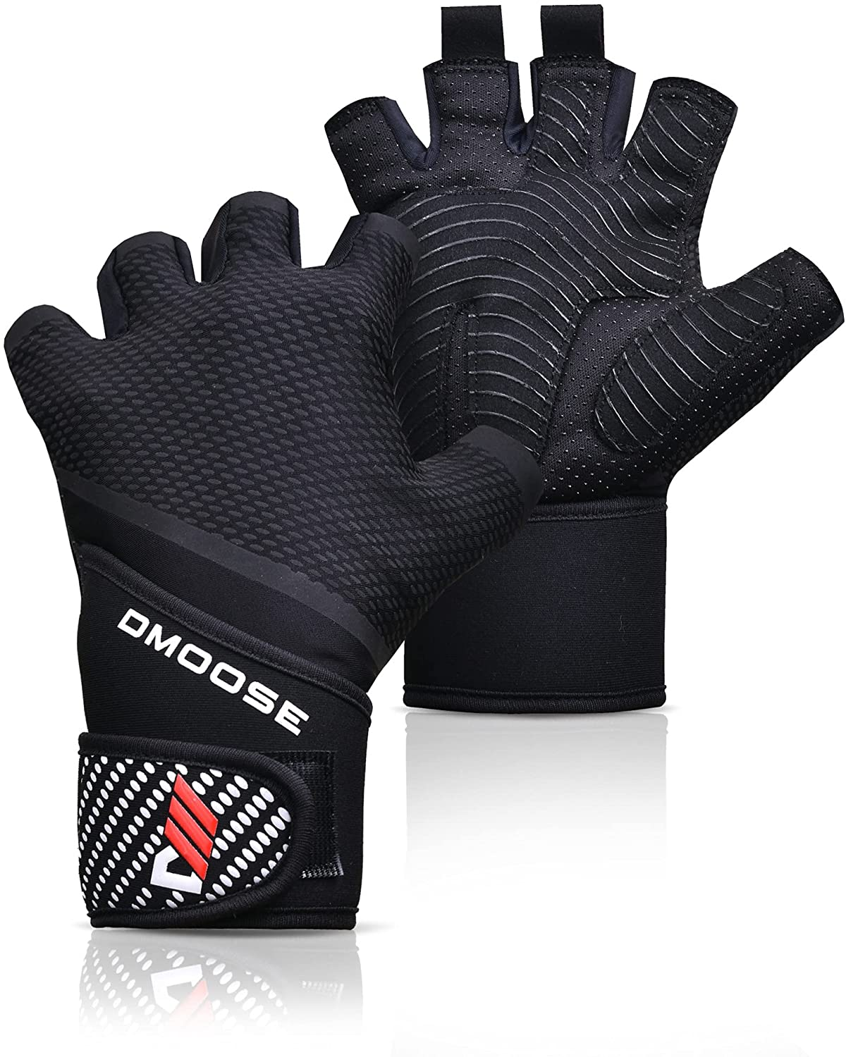 Pull Up Gloves With Wrist Support