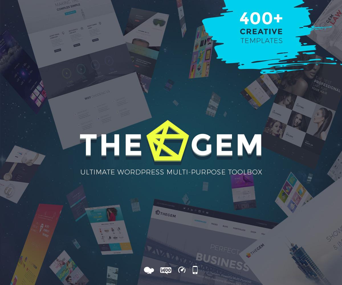 Wordpress ecommerce themes theGem