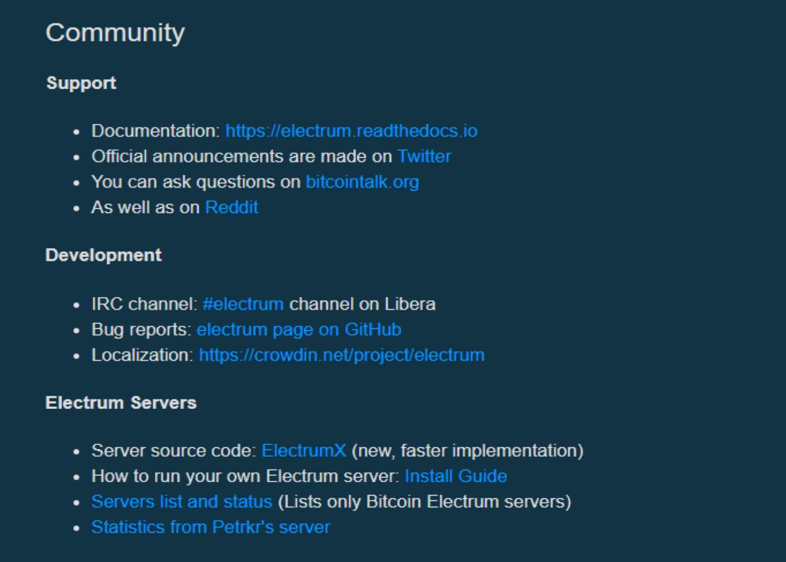 Community guidlines
