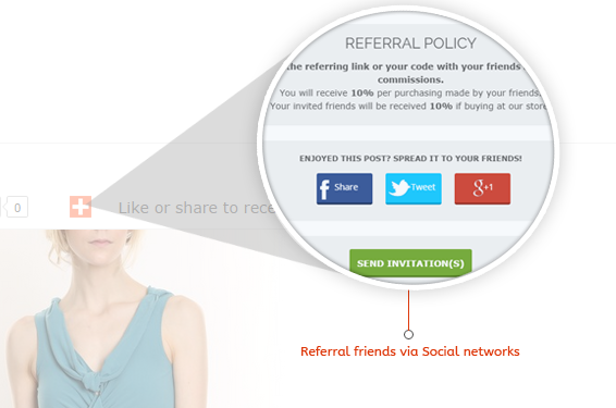 Reward for referring friends