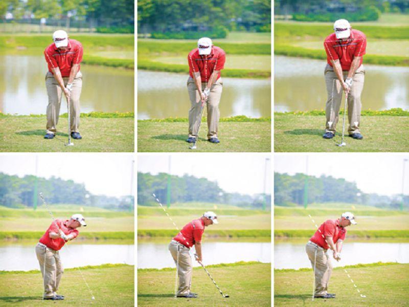 Kỹ thuật chipping golf cơ bản