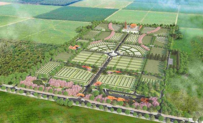 Công viên nghĩa trang Bình An tại Long Thành