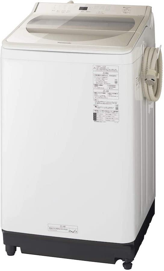 パナソニック 8.0kg 全自動洗濯機