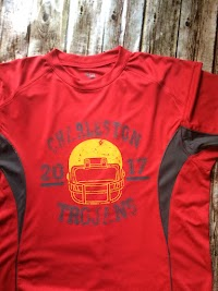 Boys red shirt is $20