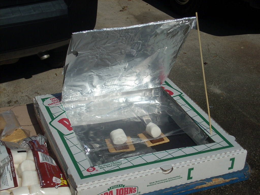 Practical and neat, a solar oven can be a very rewarding middle school science experiment
