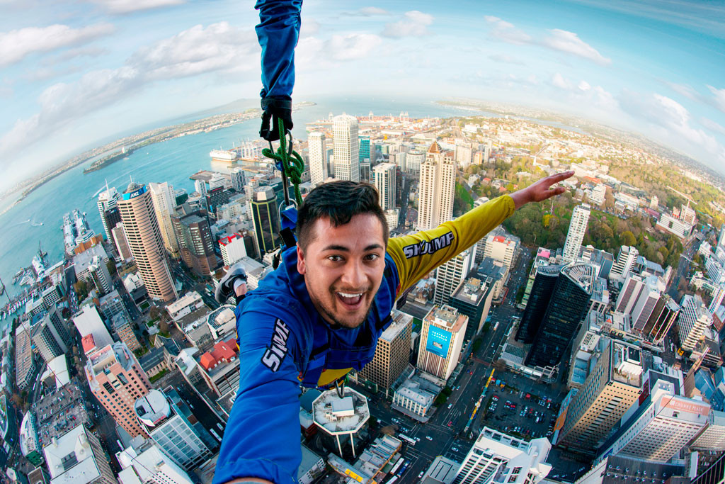 Image result for sky tower auckland jump