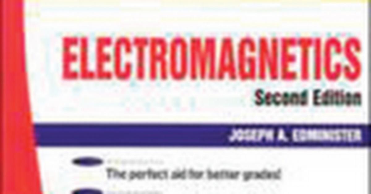 Schaum Outline Of Electromagnetics Www Eeeuniversity Com Pdf