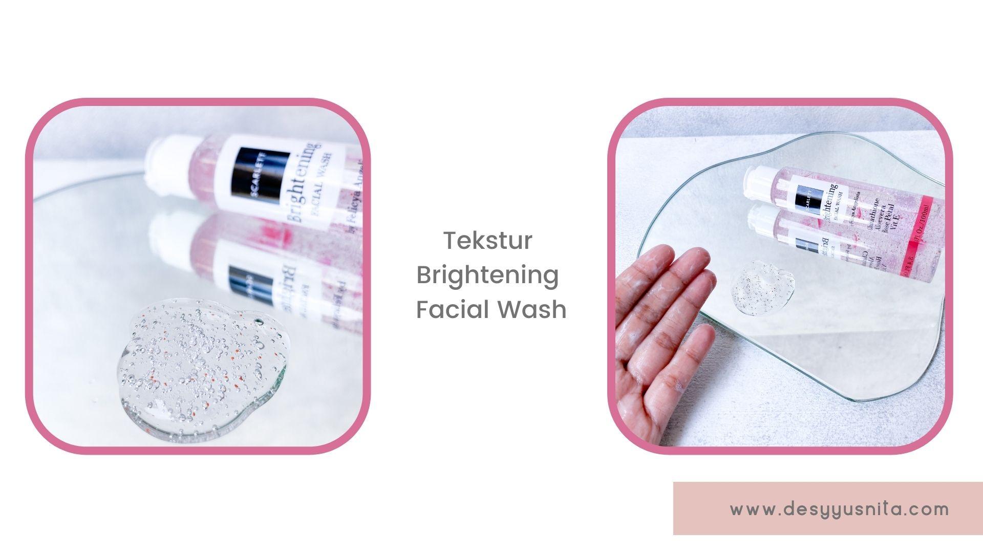 Tekstur Brightening Facial Wash