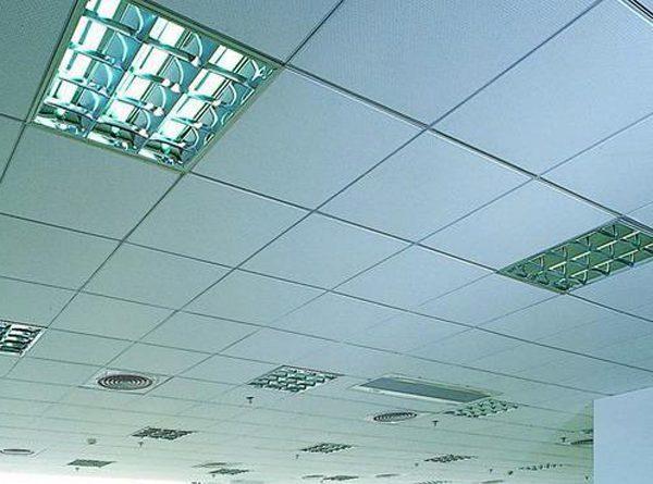 Trần thạch cao chống nóng giúp giảm nhiệt cho gian phòng