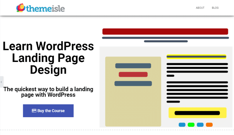 How to build a landing page with a drag-and-drop content