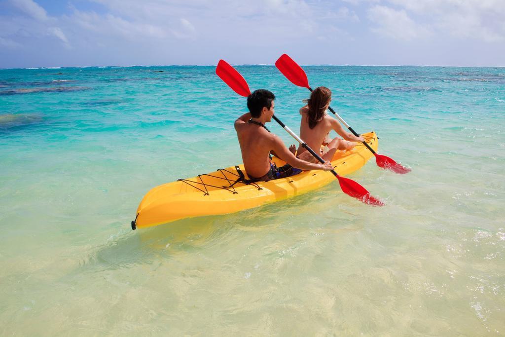 chèo thuyền kayak tại Cô Tô