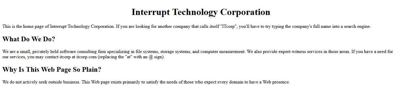 ITCorp.com (1986-09-18) image.