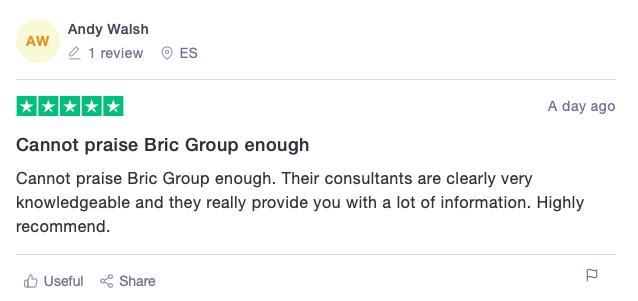 BRIC Group reviews