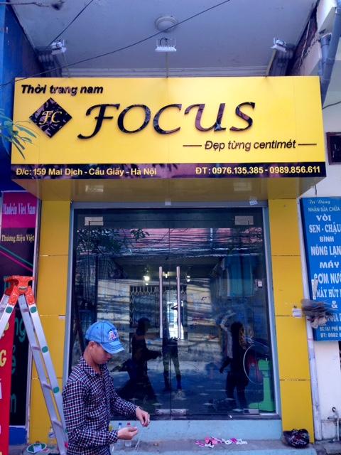 Làm biển quảng cáo hộp đèn ở Hà Nội
