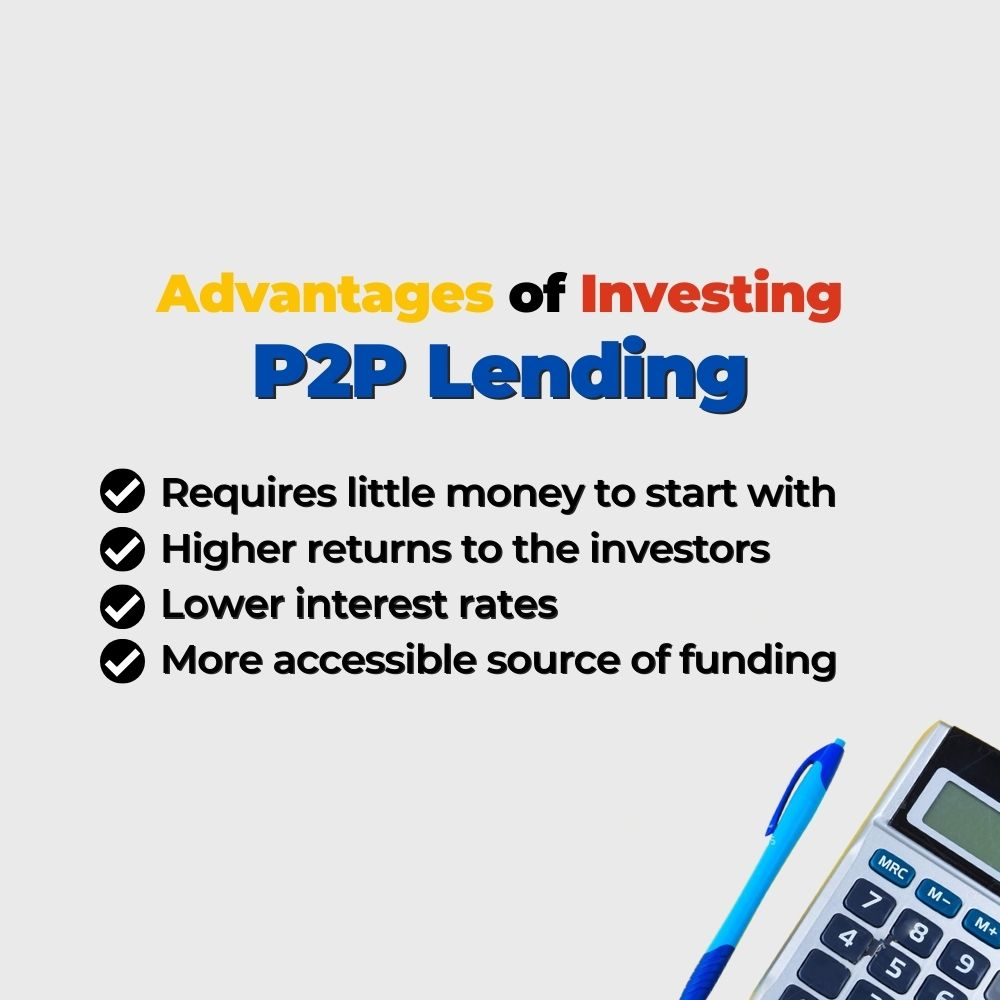 Advantages of Investing P2P Lending - Filipino Homes