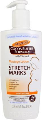 Palmer's Cocoa Butter Massage Lotion.