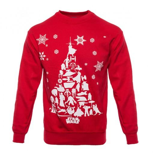 Star Wars: Christmas Tree Unisex Christmas Sweater/Jumper