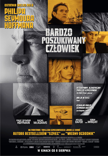 Polski plakat filmu 'Bardzo Poszukiwny Człowiek'